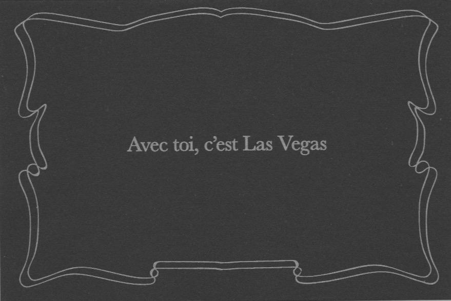 Intertitres Amoureux Vegas