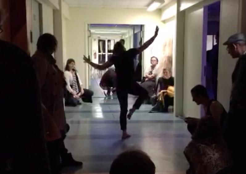 Reciter Le Vide Performance3
